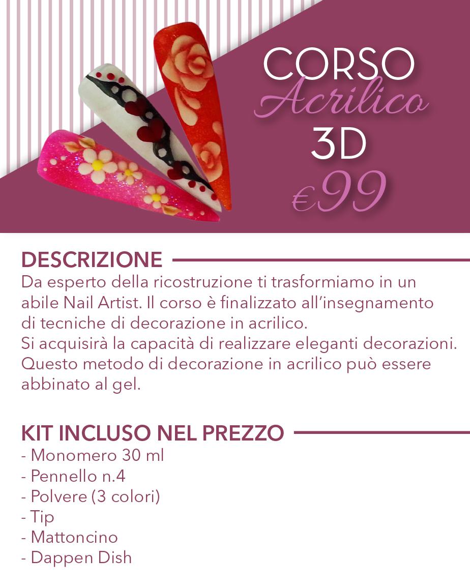 programma acrilico 3d